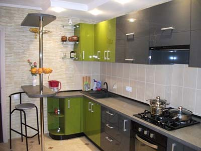 Кухня под обои
